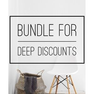 Make a bundle and receive an offer